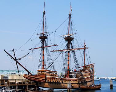 mayflower at plymouth