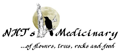 NHTs Medicinary, NHTs Medicinary of flowers, trees, rocks, and food