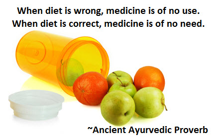 when diet is wrong medicine is of no use