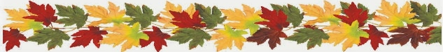 autumn leaf banner
