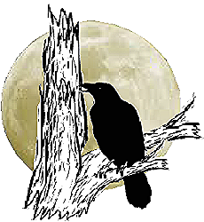 Nay_ho_tze logo NHT logo crow and moon