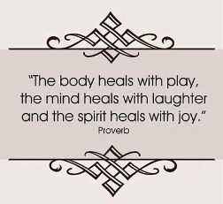 the body heals with play